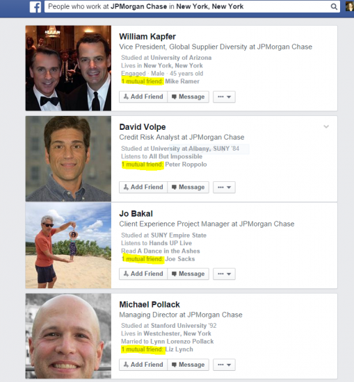 FB Graph Search for blog