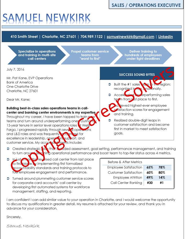 Resumes Self Marketing Collateral Career Solvers